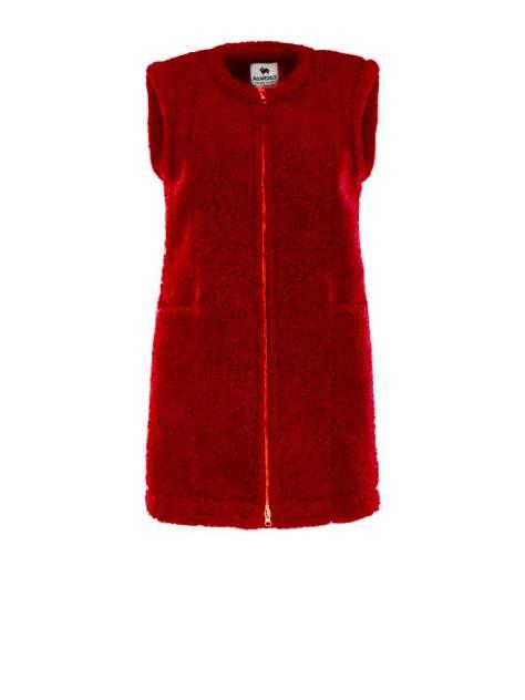 Женский утепленный жилет Alwero OTTA, красный