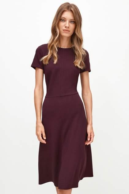 Повседневное платье женское Concept Club 10200200763 бордовое XL