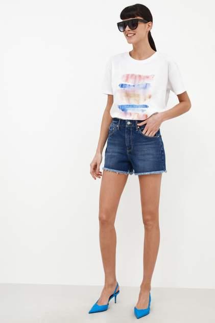 Джинсовые шорты женские Concept Club 10200420020w синие XL