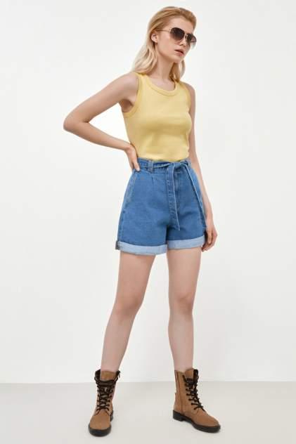 Джинсовые шорты женские Concept Club 10200420019w синие XL