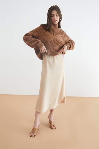 Платье-комбинация женское Concept Club 10200200795 бежевое XL