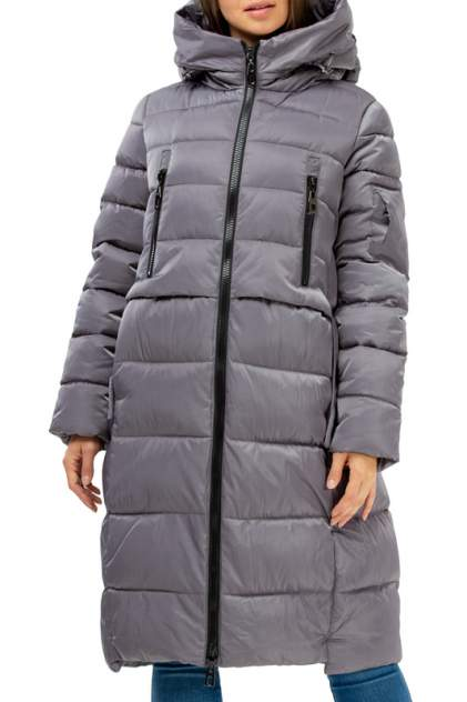Пуховик-пальто женский Amimoda 10N305 серый 48