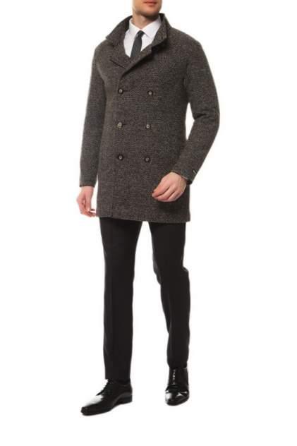 Пальто-бушлат мужское MISTEKS DESIGN 21965 коричневое 50