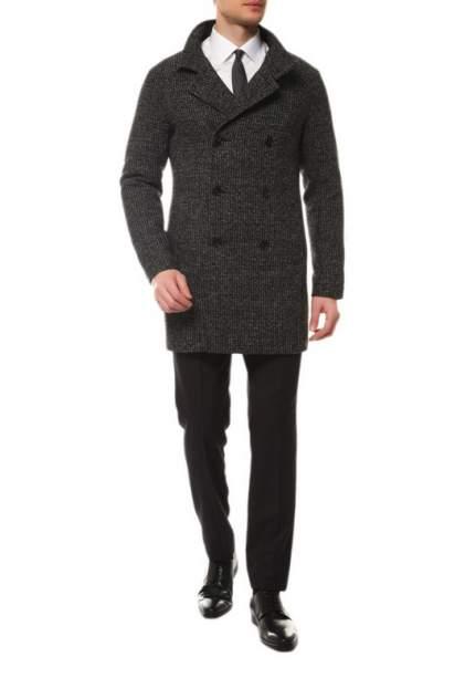 Пальто-бушлат мужское MISTEKS DESIGN 21964 черное 46