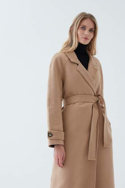Пальто женское ZARINA 1123459139 бежевое 42