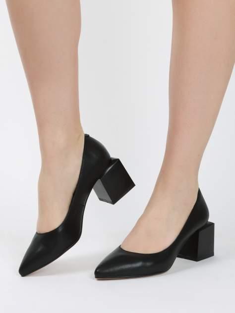 Туфли женские MAKFINE 35MK-84-01A4, черный