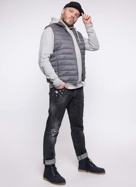 Утепленный жилет мужской Каляев 158529 серый 46-48