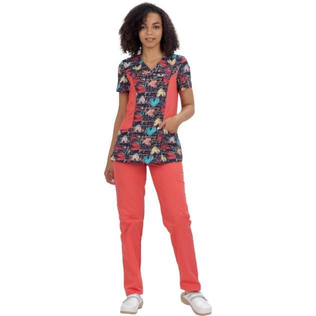 Костюм медицинский женский IVUNIFORMA Малибу разноцветный 46 RU