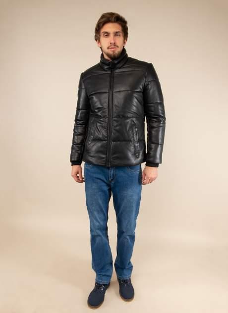 Кожаная куртка мужская Gotthold 157561 черная 48