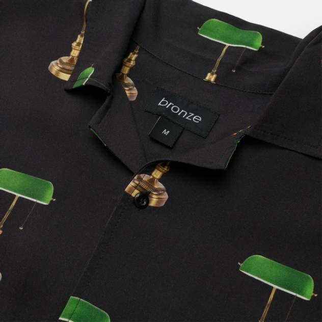 Рубашка мужская Bronze 56k 6072907, черный