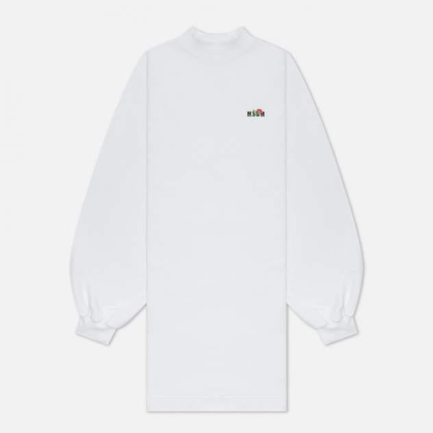 Женское платье MSGM 3141MDA61 217799, белый