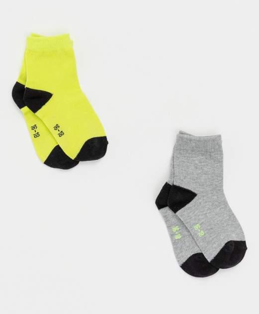 Носки Button Blue для мальчиков цв. зеленый р-р. 16-18
