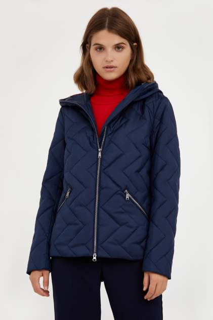 Куртка женская Finn Flare A20-32007 синяя 2XL