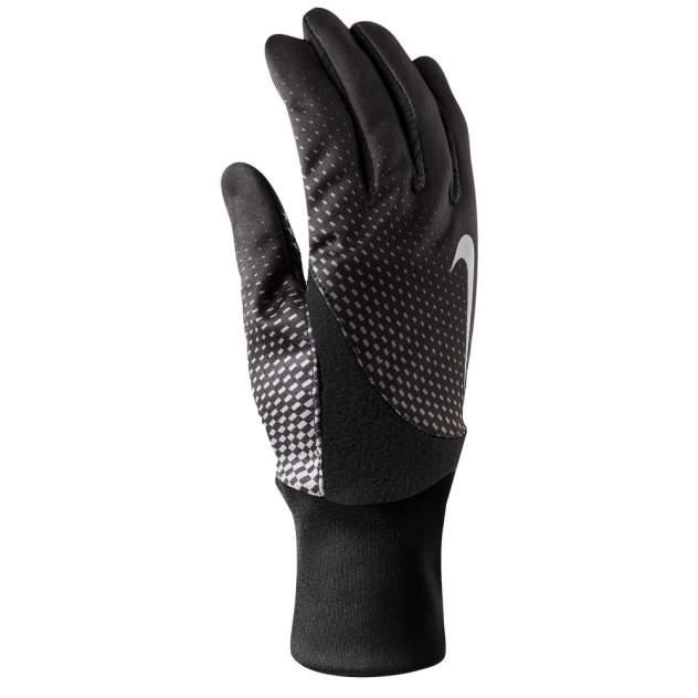 Мужские перчатки NIKE MEN'S PRINTED ELEMENT THERMAL 2.0 RUN GLOVES M BLACK/BLACK, M