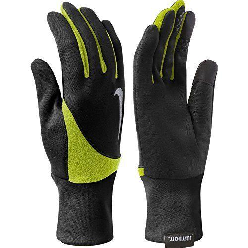 Мужские перчатки Nike N.RG.B1.023.LG, черный, зеленый