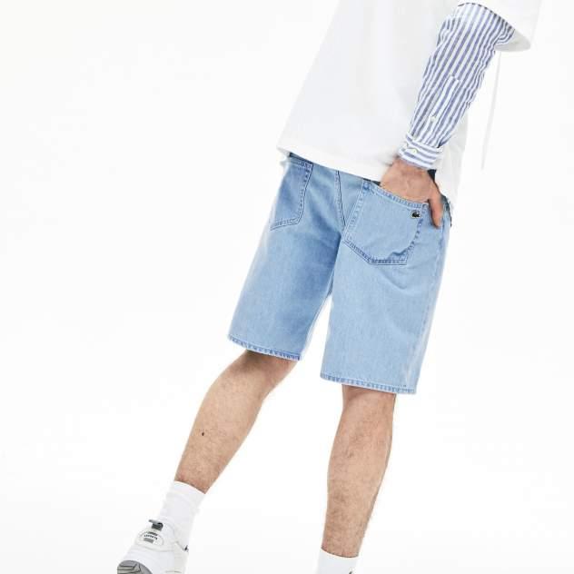Повседневные шорты мужские Lacoste FH6262UEX голубые 32