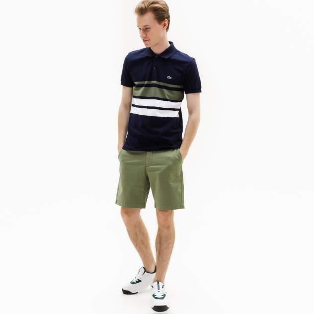 Повседневные шорты мужские Lacoste FH9542S86 зеленые 46