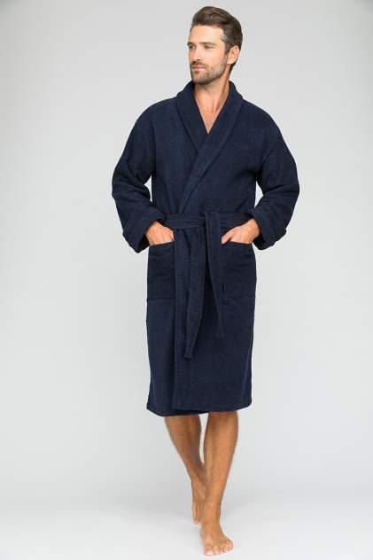 Домашний халат мужской EvaTeks King Power синий L