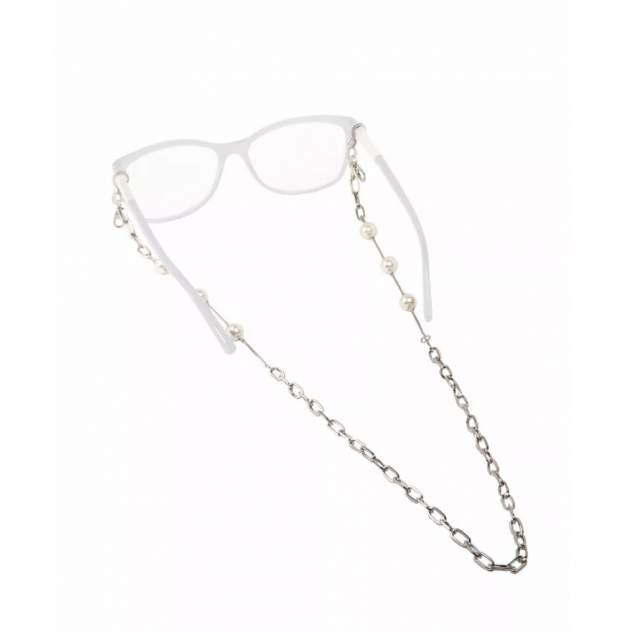 Цепочка для очков Daroni Silver and Pearls  серебристая