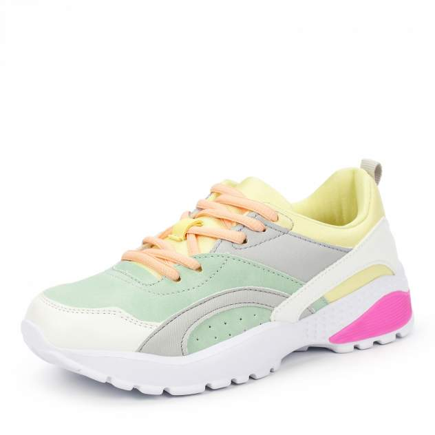 Кроссовки для девочек ZENDEN, цв. разноцветный, р-р 34