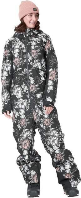 Комбинезон Picture Organic Xena, peonies black, XL
