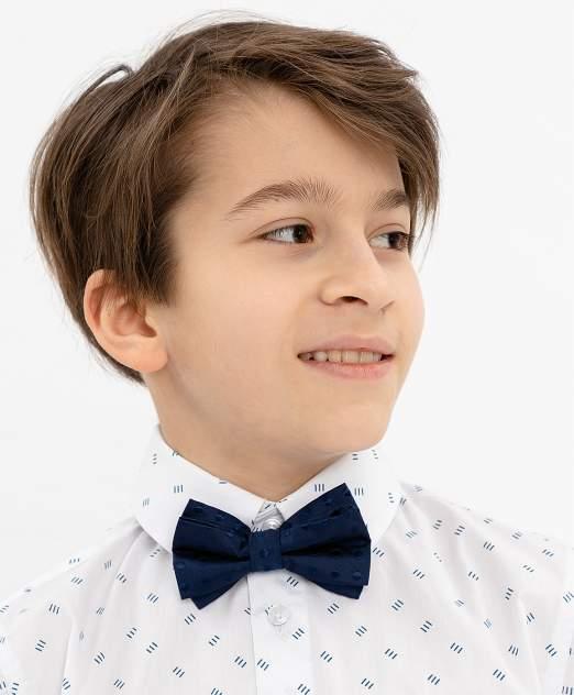 Галстук-бабочка для мальчиков Button Blue, цв. синий