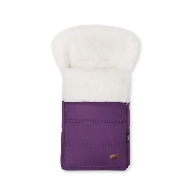Конверт зимний меховой Nuovita Alpino Bianco Viola, Фиолетовый