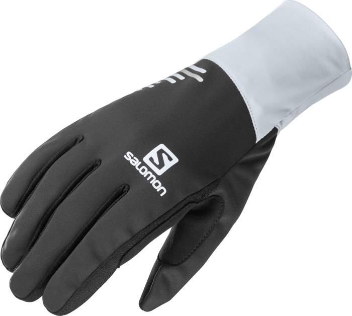 Перчатки Salomon Equipe Glove U, black/kentucky blue, L