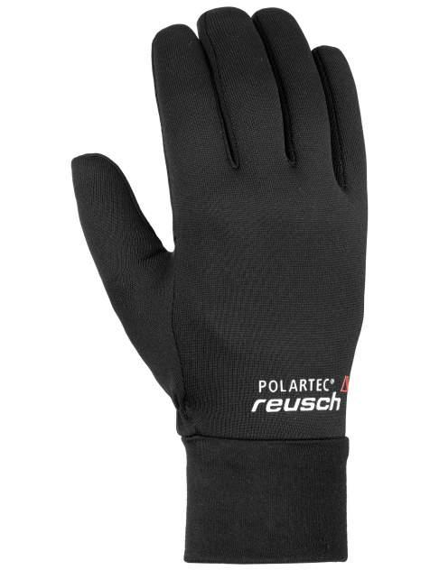Перчатки Reusch Power Stretch Touch-Tec, black, 9.5 Inch