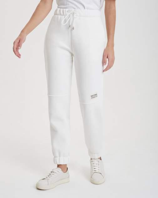 Женские спортивные брюки BARMARISKA БЖН-Б396, белый
