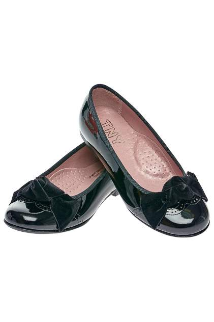 Туфли детские TNY, цв. черный р.31