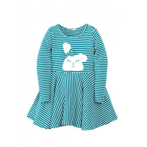 Платье для девочек Bonito kids, цв. зеленый, р-р 110
