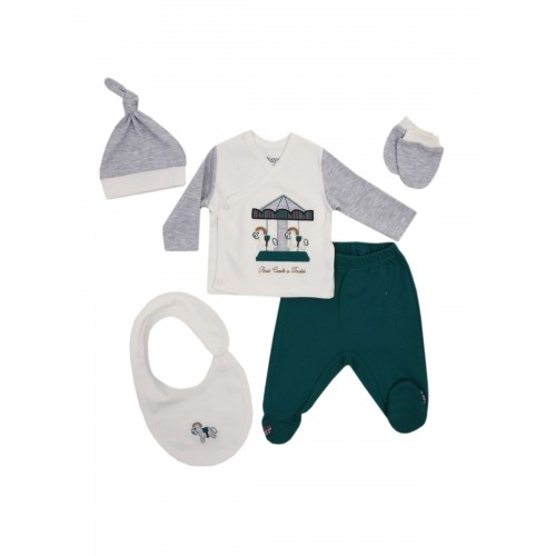 Комплект одежды Kidaxi, цв. зеленый