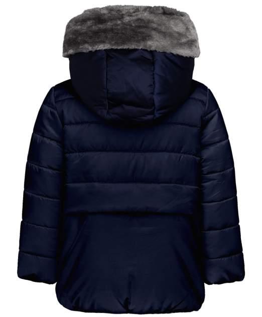 Куртка для девочек Button Blue, цв. синий, р-р 98