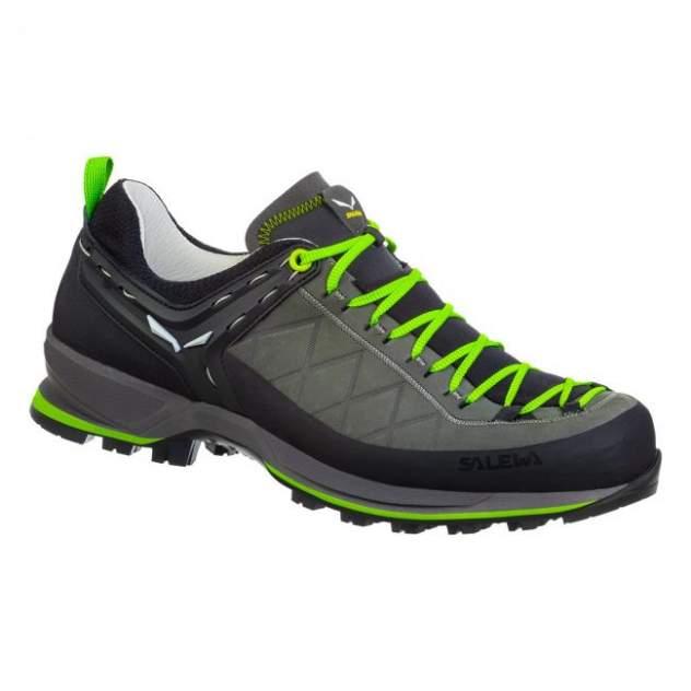 Ботинки Salewa Mountain Trainer Leather Men's Smoked/Fluo Green (Uk:11,5)