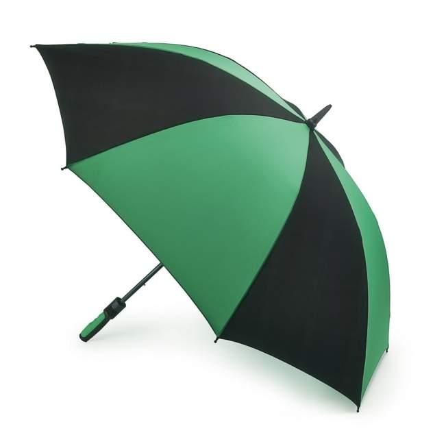 Зонт гольфер мужской механический Fulton S837-097 черный/зеленый
