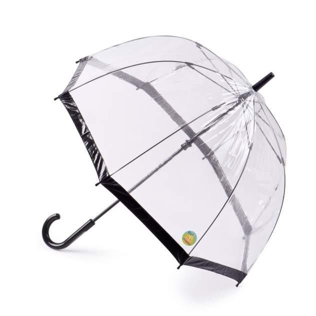 Зонт-трость женский механический Fulton L783-01 черный