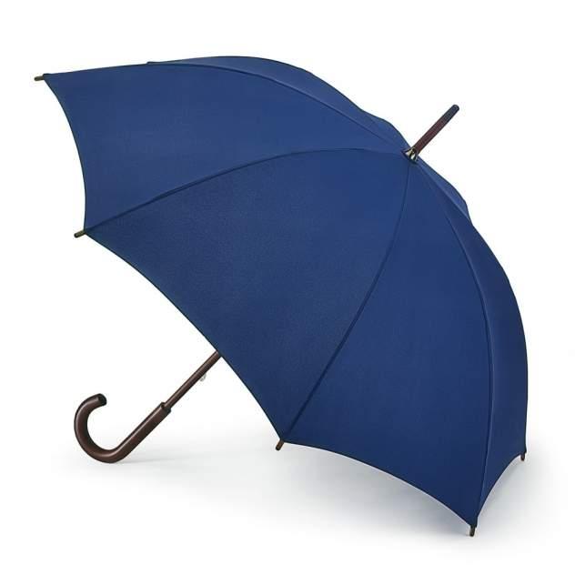 Зонт-трость женский механический Fulton L776-033 синий