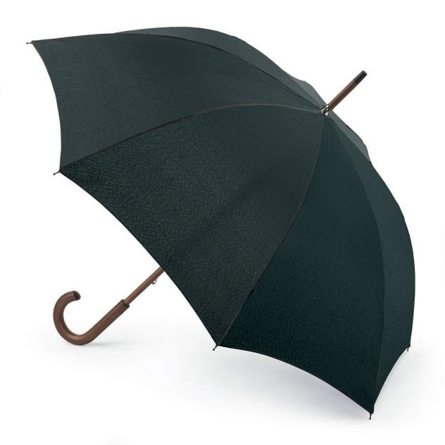 Зонт-трость женский механический Fulton L776-01 черный