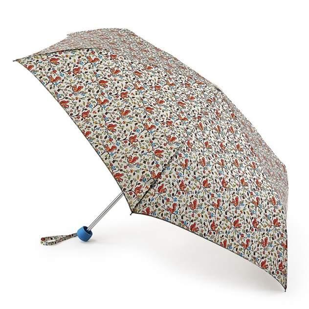 Зонт складной женский механический Fulton L768-3064 разноцветный