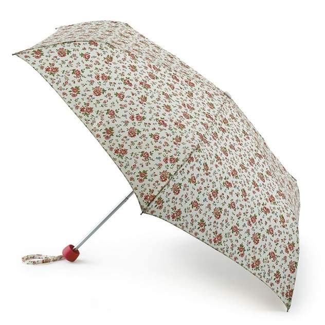 Зонт складной женский механический Fulton L768-2742 бежевый