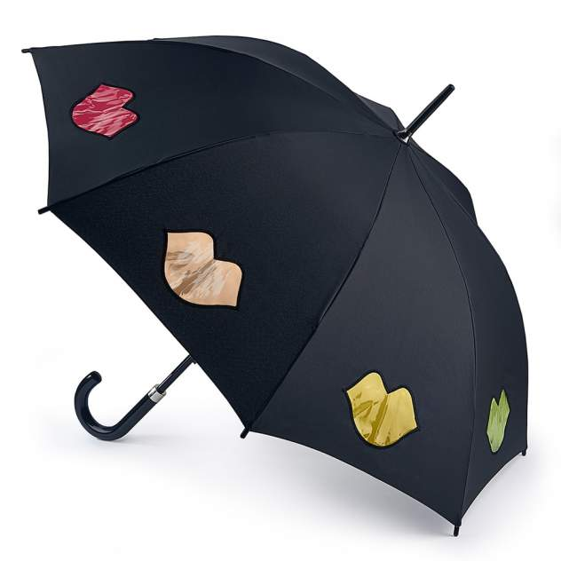 Зонт-трость женский механический Fulton L764-3659 черный