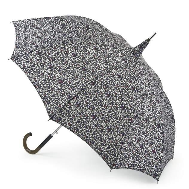 Зонт-трость женский автоматический Fulton L753-2619 черный