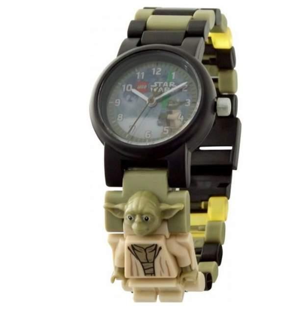 Детские наручные часы LEGO аналоговые Star Wars. Yoda, 8021032
