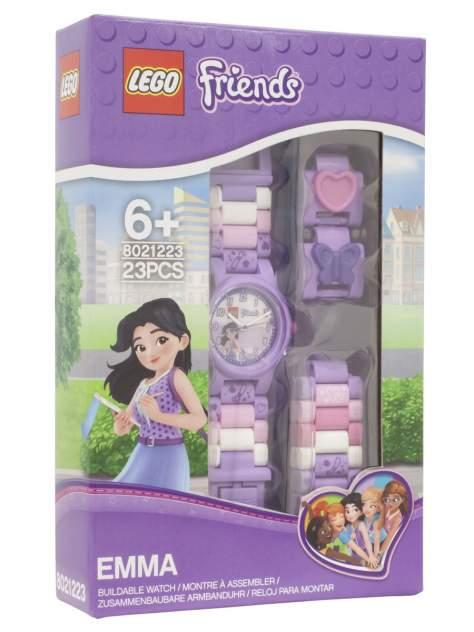 Детские наручные часы LEGO аналоговые Friends. Emma, 8021223