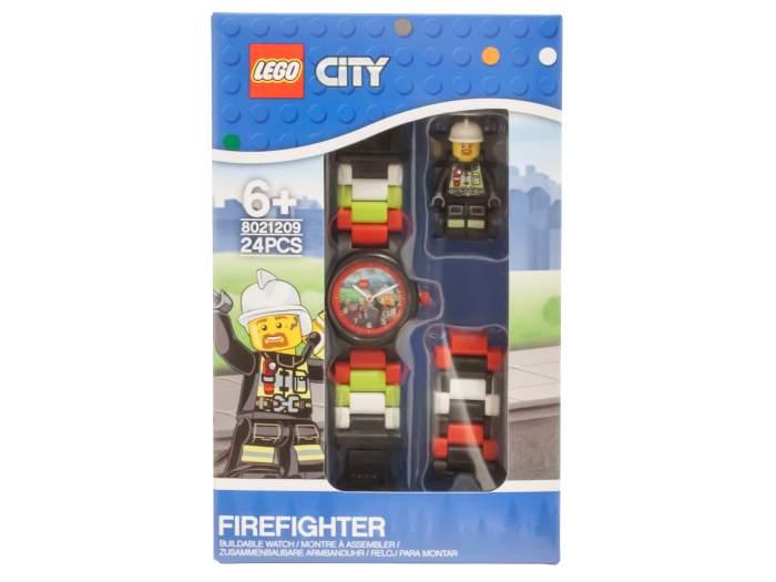 Детские наручные часы LEGO аналоговые City. Fireman, 8021209