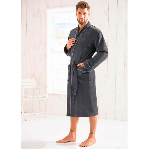 Халат мужской Morgenstern LOU размер XL, черный