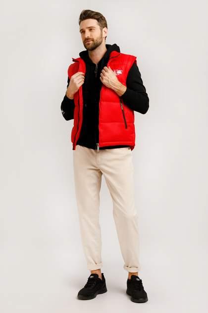 Жилет мужской Finn-Flare B20-22013 красный 3XL