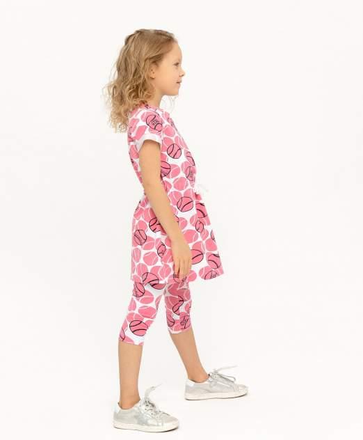 Платье для девочек Button Blue, цв. розовый, р-р 116