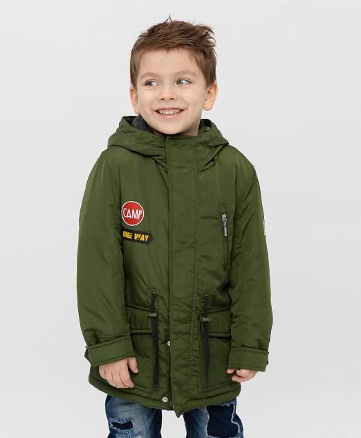 Пальто для мальчиков Button Blue, цв. хаки, р-р 110